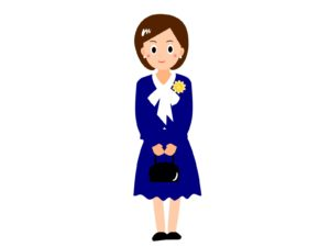 入学式の母親
